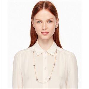 Kate Spade Lady Marmalade Station Necklace